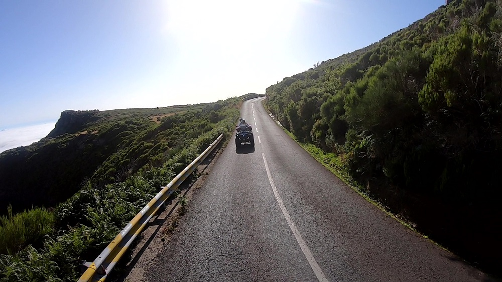 Madeira Insel Quad tour Insel